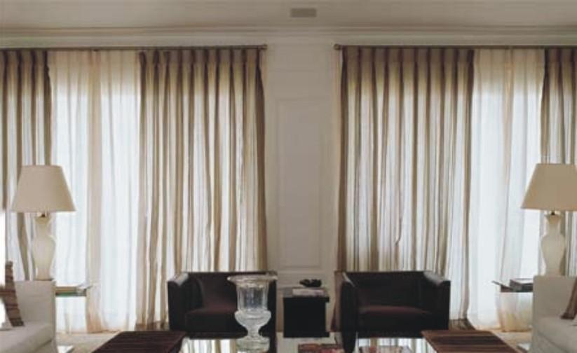 Piso ideas sala for Ideas de cortinas